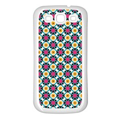 Pattern 1282 Samsung Galaxy S3 Back Case (white) by creativemom