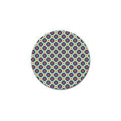 Cute Abstract Pattern Background Golf Ball Marker by creativemom