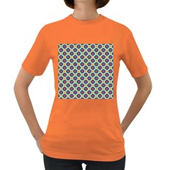 Cute Abstract Pattern Background Women s Dark T Shirt by creativemom