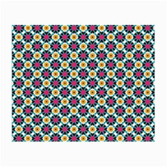Cute Abstract Pattern Background Small Glasses Cloth (2 Side) by creativemom