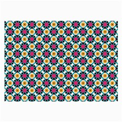 Cute Abstract Pattern Background Large Glasses Cloth (2 Side) by creativemom