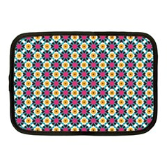 Cute Abstract Pattern Background Netbook Case (medium)  by creativemom