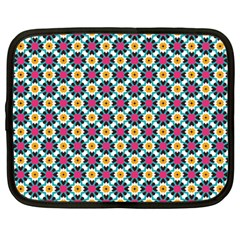 Cute Abstract Pattern Background Netbook Case (large)	 by creativemom