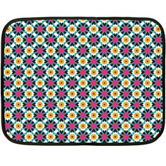 Cute Abstract Pattern Background Double Sided Fleece Blanket (mini)  by creativemom