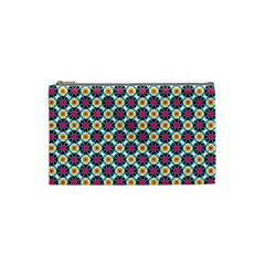 Cute Abstract Pattern Background Cosmetic Bag (small)  by creativemom