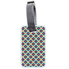 Cute Abstract Pattern Background Luggage Tags (two Sides) by creativemom