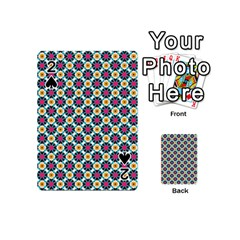 Cute Abstract Pattern Background Playing Cards 54 (mini)  by creativemom