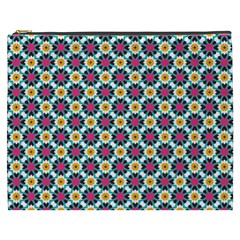 Cute Abstract Pattern Background Cosmetic Bag (xxxl)  by creativemom