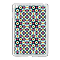Cute Abstract Pattern Background Apple Ipad Mini Case (white) by creativemom