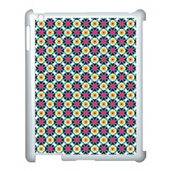Cute Abstract Pattern Background Apple Ipad 3/4 Case (white)