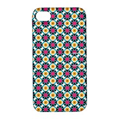 Cute Abstract Pattern Background Apple Iphone 4/4s Hardshell Case With Stand by creativemom