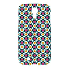 Cute Abstract Pattern Background Samsung Galaxy S4 I9500/i9505 Hardshell Case by creativemom