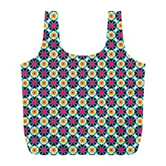 Cute Abstract Pattern Background Full Print Recycle Bags (l)  by creativemom