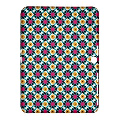 Cute Abstract Pattern Background Samsung Galaxy Tab 4 (10 1 ) Hardshell Case  by creativemom
