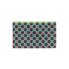 Cute Abstract Pattern Background Cosmetic Bag (xs) by creativemom