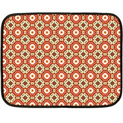 Cute Pretty Elegant Pattern Double Sided Fleece Blanket (mini)