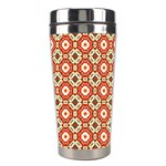 Cute Pretty Elegant Pattern Stainless Steel Travel Tumblers Right