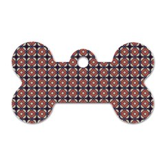 Cute Pretty Elegant Pattern Dog Tag Bone (one Side) by creativemom