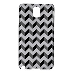 Modern Retro Chevron Patchwork Pattern  Samsung Galaxy Note 3 N9005 Hardshell Case by creativemom