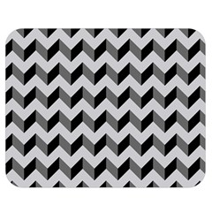 Modern Retro Chevron Patchwork Pattern  Double Sided Flano Blanket (medium)  by creativemom