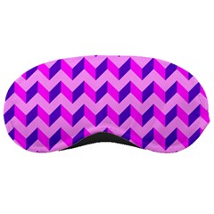 Modern Retro Chevron Patchwork Pattern Sleeping Masks by creativemom