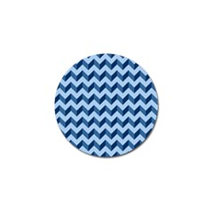 Modern Retro Chevron Patchwork Pattern Golf Ball Marker (10 Pack) by creativemom