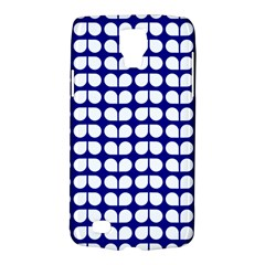Blue And White Leaf Pattern Galaxy S4 Active by creativemom