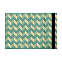 Modern Retro Chevron Patchwork Pattern Ipad Mini 2 Flip Cases by creativemom