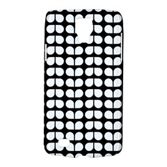Black And White Leaf Pattern Galaxy S4 Active