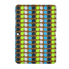 Colorful Leaf Pattern Samsung Galaxy Tab 2 (10 1 ) P5100 Hardshell Case  by creativemom