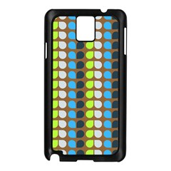 Colorful Leaf Pattern Samsung Galaxy Note 3 N9005 Case (black) by creativemom