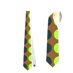 Colorful Leaf Pattern Neckties (one Side)  by creativemom