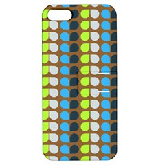 Colorful Leaf Pattern Apple Iphone 5 Hardshell Case With Stand by creativemom