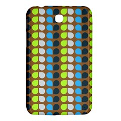 Colorful Leaf Pattern Samsung Galaxy Tab 3 (7 ) P3200 Hardshell Case  by creativemom