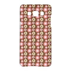 Cute Floral Pattern Samsung Galaxy A5 Hardshell Case  by creativemom