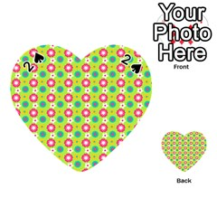 Cute Floral Pattern Playing Cards 54 (heart)  by creativemom