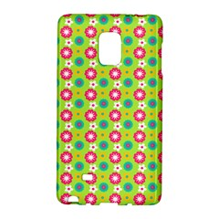 Cute Floral Pattern Galaxy Note Edge by creativemom