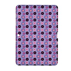 Cute Floral Pattern Samsung Galaxy Tab 2 (10 1 ) P5100 Hardshell Case