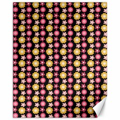 Cute Floral Pattern Canvas 11  X 14   by creativemom