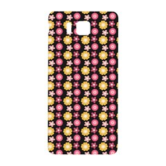 Cute Floral Pattern Samsung Galaxy Alpha Hardshell Back Case by creativemom