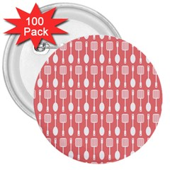 Pattern 509 3  Buttons (100 Pack)  by creativemom