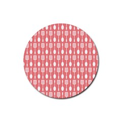 Pattern 509 Rubber Round Coaster (4 Pack)  by creativemom