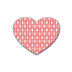 Pattern 509 Rubber Coaster (heart)  by creativemom