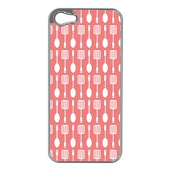 Pattern 509 Apple Iphone 5 Case (silver) by creativemom