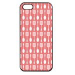 Pattern 509 Apple iPhone 5 Seamless Case (Black) Front