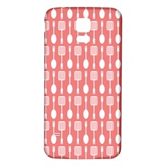 Pattern 509 Samsung Galaxy S5 Back Case (white) by creativemom