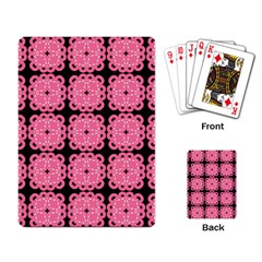Cute Pretty Elegant Pattern Playing Card by creativemom