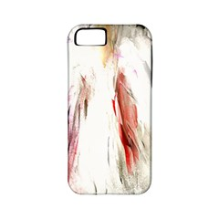 Abstract Angel In White Apple Iphone 5 Classic Hardshell Case (pc+silicone)
