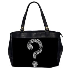 Laptop Oversize Office Handbag (two Sides) by hedehede