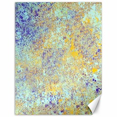 Abstract Earth Tones With Blue  Canvas 12  X 16   by digitaldivadesigns